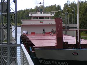 Ship in the lock
