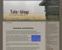 Talo-blogi, version 1